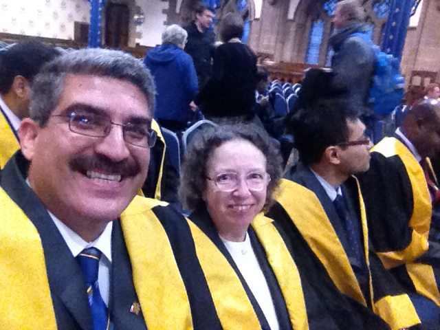 My Fellowship Admission Ceremony, Royal College and Physicians and Surgeons of Glasgow