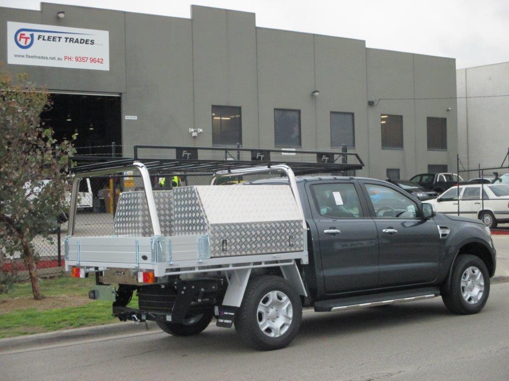 Ranger Aluminium Trays