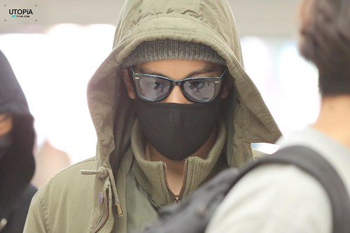 Big Bang - Incheon Airport - 01apr2015 - TOP - Utopia - 07
