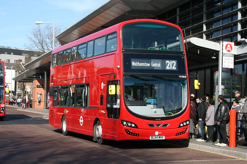 212 to Walthamstow Central Bus Station