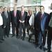Die Freundschaftsgruppe aus dem kroatischen Parlament beim Berlin-Besuch im Gespräch mit Achim Barchmann