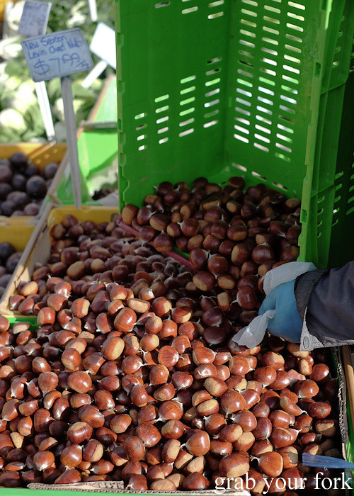 Chestnuts at Harbourside Market, Wellington