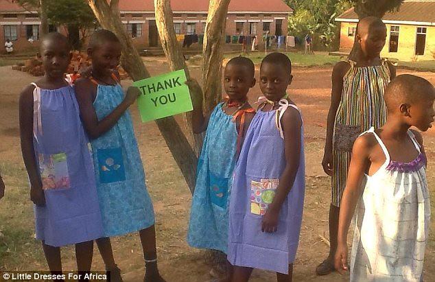 AfricanGirlsWearingLillianWeberDresses_PhotoReleasedbyLittleDressesForAfrica