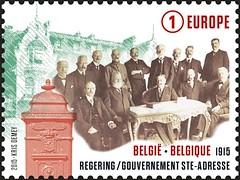 04 DE GROOTE OORLOG 1915 timbre C
