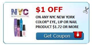 $1/1 NYC New York Makeup Coupon