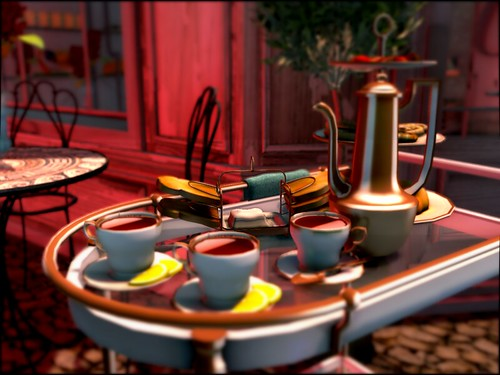 Tea time @ Silky's Café