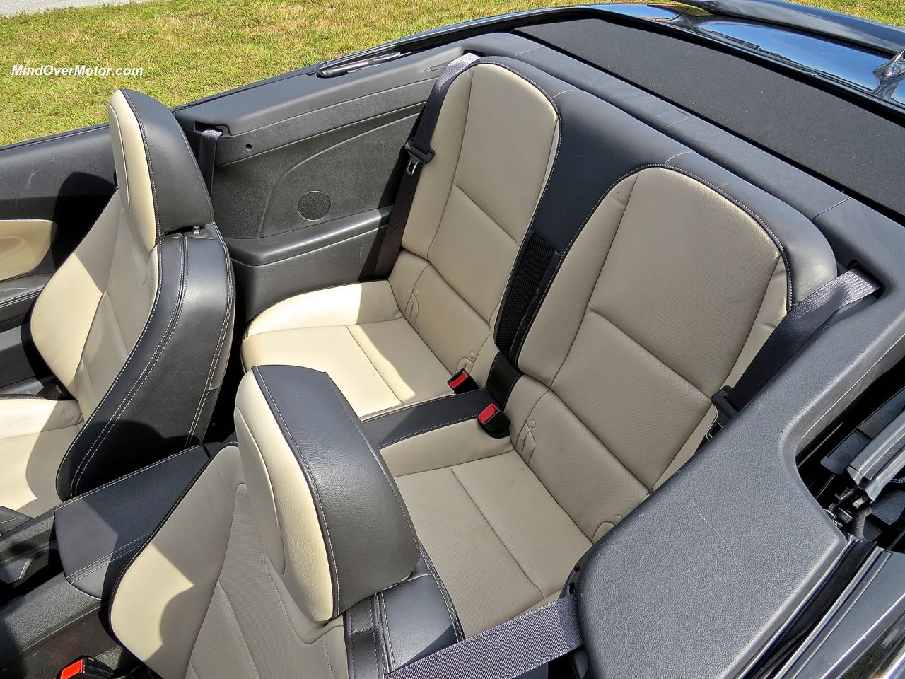 2015 Chevrolet Camaro Convertible Rear Seats