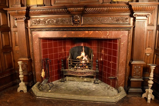 Great Hall Fireplace at Jesmond Dene House