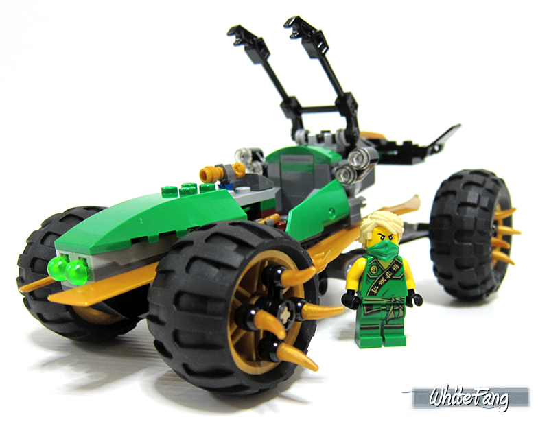 schnelle Farbe Promo-Codes Mode-Design REVIEW: 70755 Jungle Raider - LEGO Action and Adventure ...