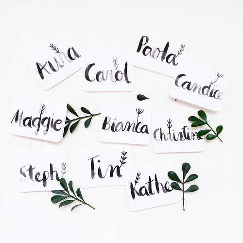 Handmade Placecards