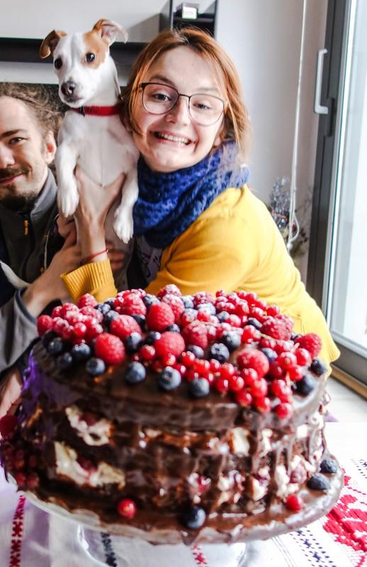 liuba and the cake