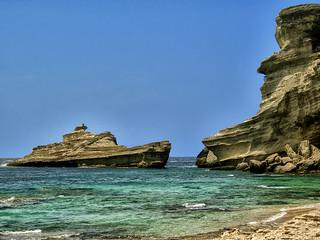 Le Bateau Rocher en Corse