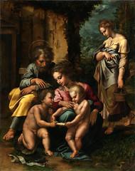 The Holy Family y GIULIO ROMANO