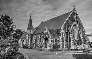 Church supported post quake