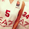 #redshoes #Gentile e #Moss @olimpiaEA7Mi #OlimpiaMilano #Milano #BruceremoCantù #salutatelacapolista #wonderful #truelove #youandme #italy #instapic #selfie #cuoricino #basket
