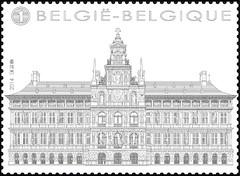 16 Markt Van Antwerpen timbre c