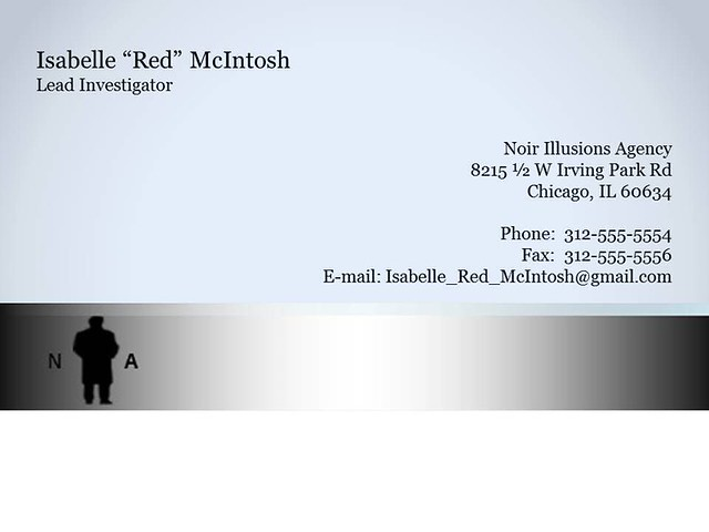Business Card-Red