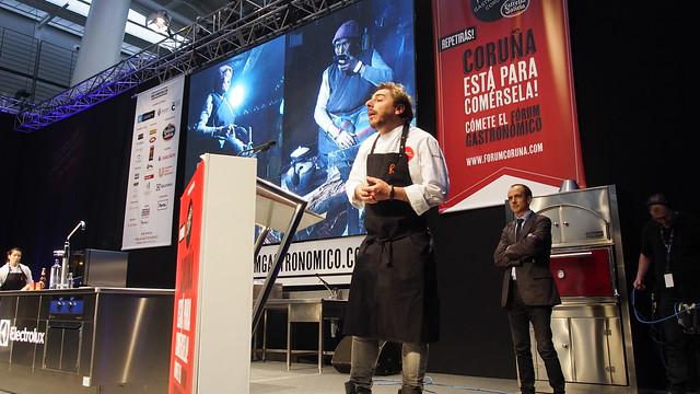 _LZX4747 Jordi Roca del El Celler de Can Roca en Forum Gastronomico Coruña 2015