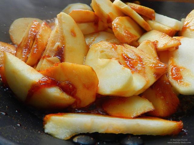 galette cu mere, ghimbir si nuci