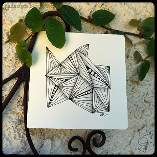 Zentangle® : Munchin