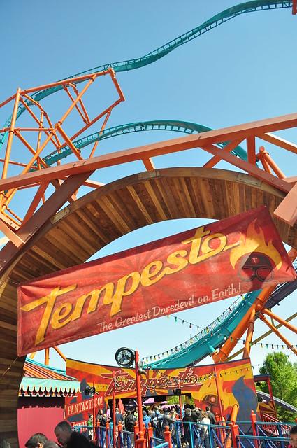 Tempesto Challengs Daredevils at Busch Gardens Williamsburg