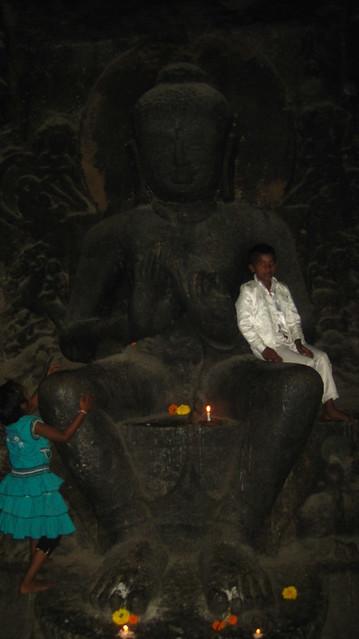 Buddha at Pandavleni