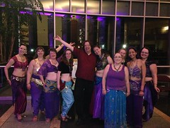 Shoot\'s over. Me and @halyma\'s belly dancers