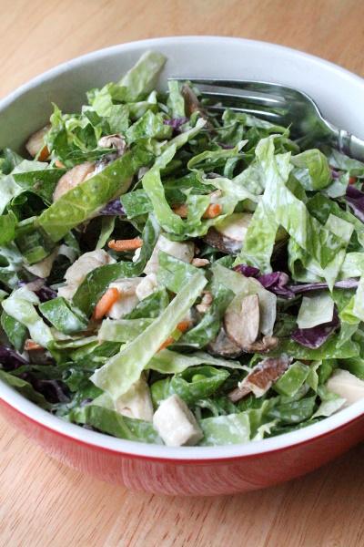 100 Calorie Big Salad