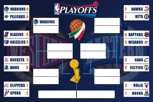 NBA Playoffs - Golden State fa poker. Ai Bulls servirà un'altra gara
