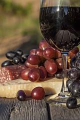 Wine & Cheese Detail