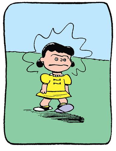 Angry Lucy van Pelt