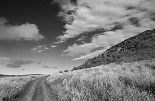 backpackphotography ireland carrowkeel carrowkeelportaltombs carrowkeelmegalthiccemetary megalithic megalith cemetary portaltomb tomb ancient sligo carrowkeelmegalithiccomplex cairn cairns bw