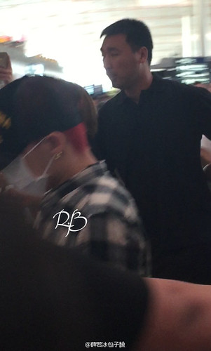 Big Bang - Beijing Airport - 07jun2015 - 薛若冰包子臉 - 07