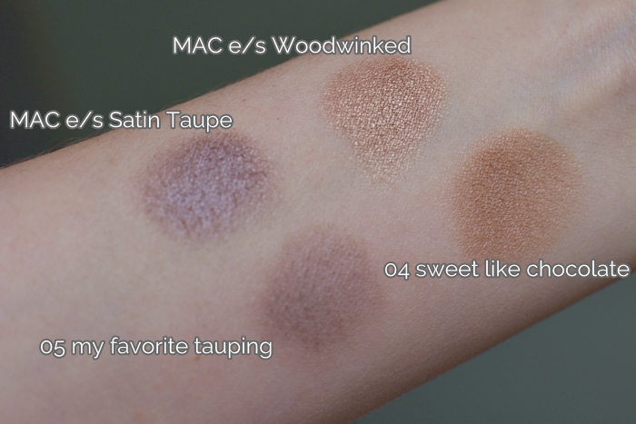 {essence} I ♥ NUDE eyeshadows 03