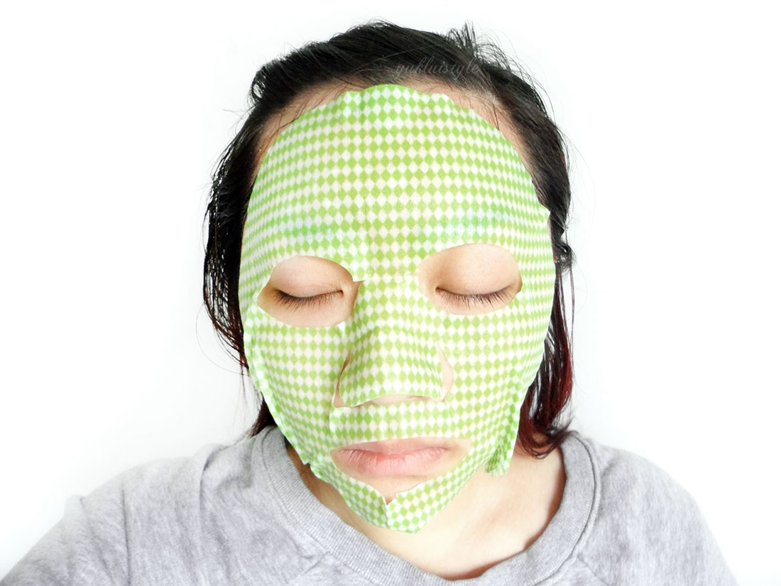 Timeless Truth Green Tea Phenol Soothing Mask review and swatch