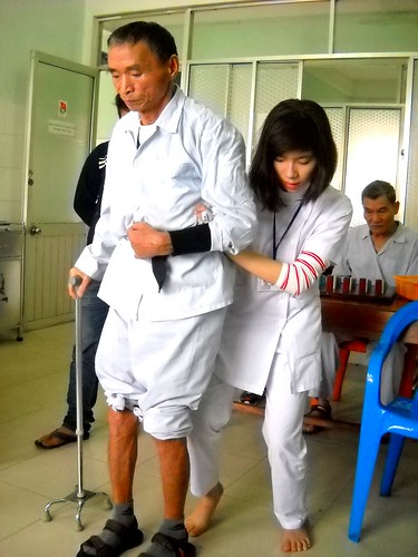 Young Therapist at Traditional Medicine Hospital