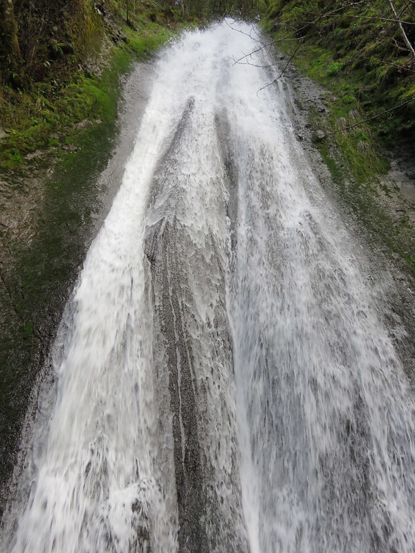 Munra Falls along the Wahclella Falls Trail