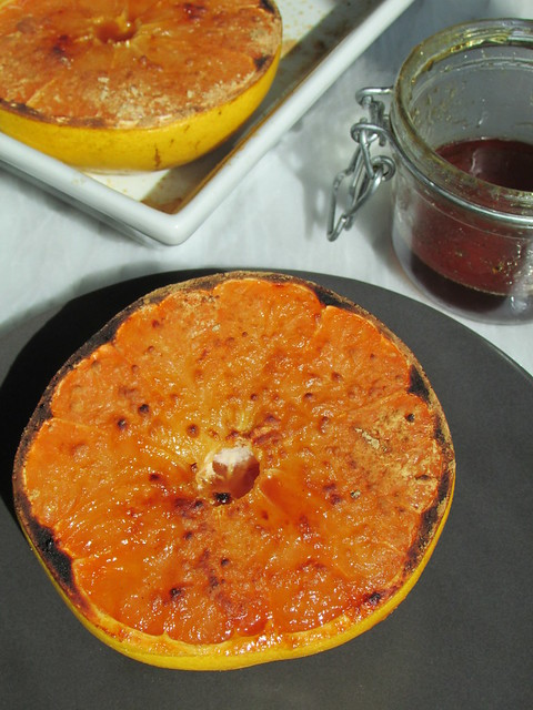 broiled grapefruit with ginger on twothirtyate.com