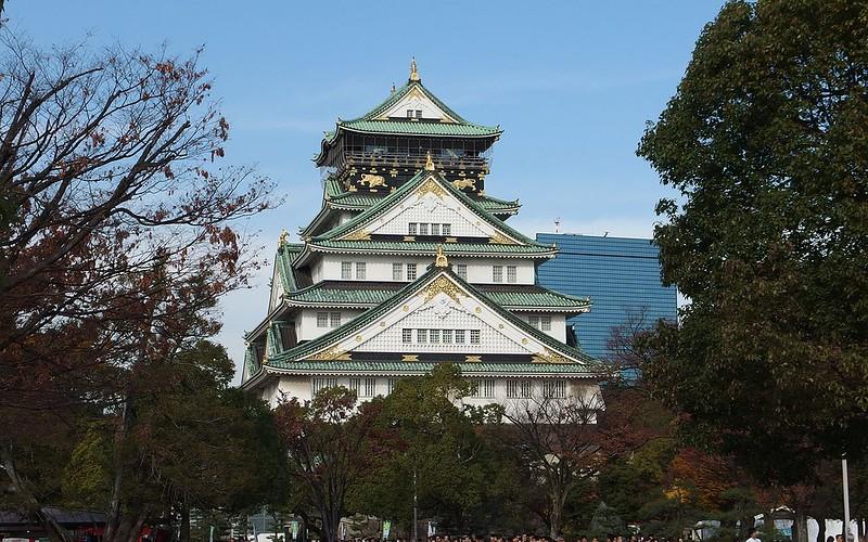 Osaka Castle Keep Tower