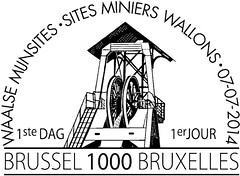 14 SITES MINIERS WALLONS zBrussel N