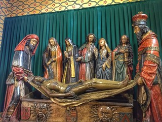 El entierro de Cristo (talla de Moissac)