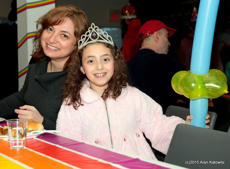 Family Purim Party