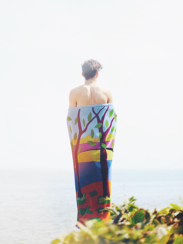 loewe beach towel vsco