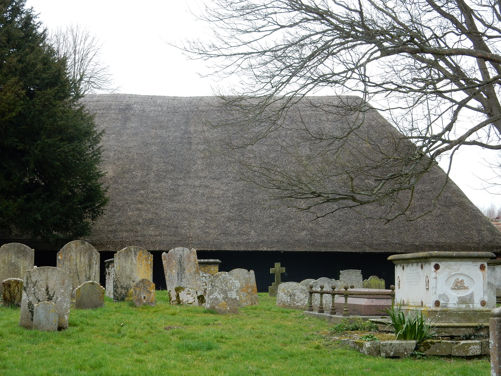 Tithe barn Sturry Circular Littlebourne Churchyard
