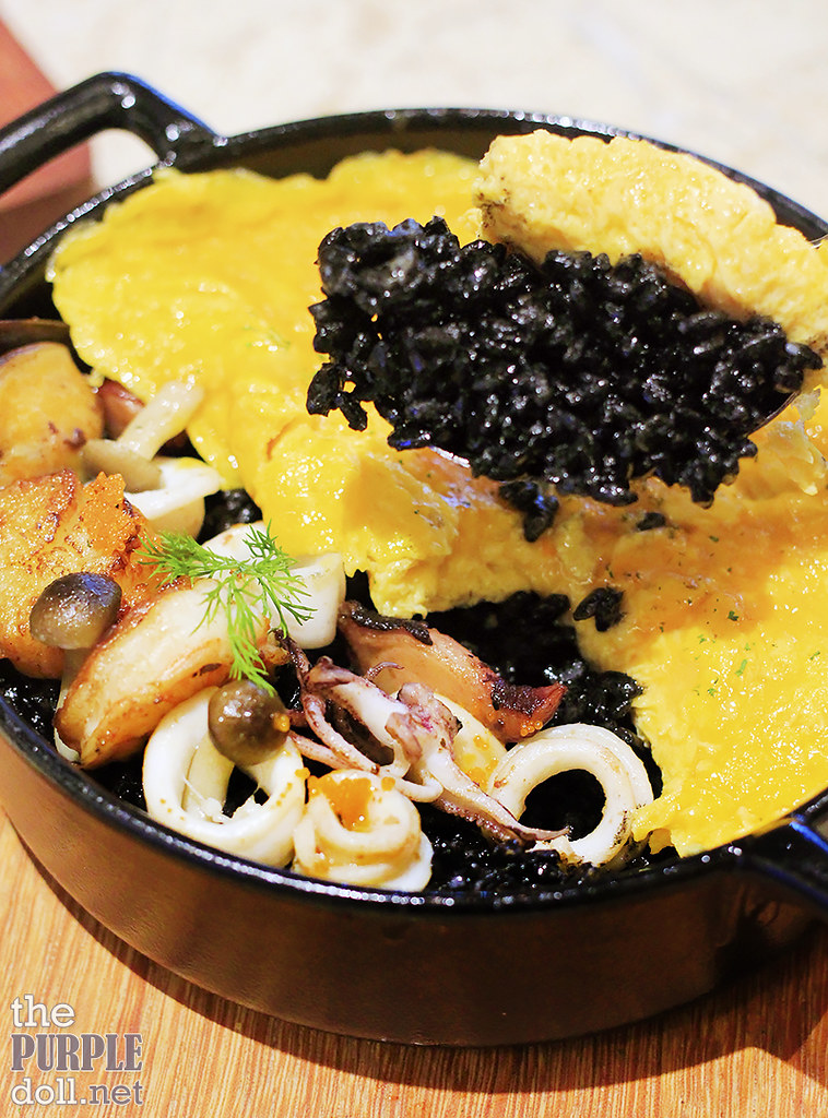 Squid Ink Rice (P395)
