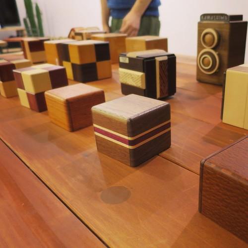 カラクリ箱、すげー。機構、どんなことになってんの? #CubeEtude