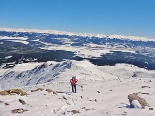 Sanja at 13,800 ft