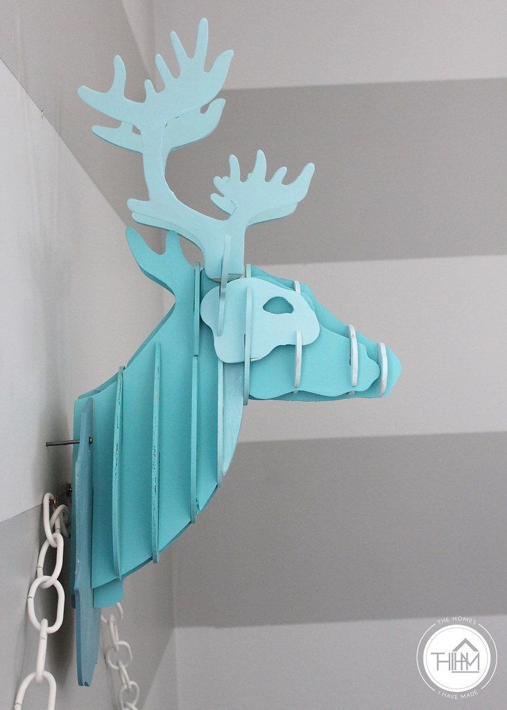 Ombre Deer Head-010