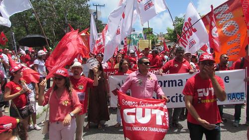 Mobilização em defesa da Reforma Política e da Petrobras