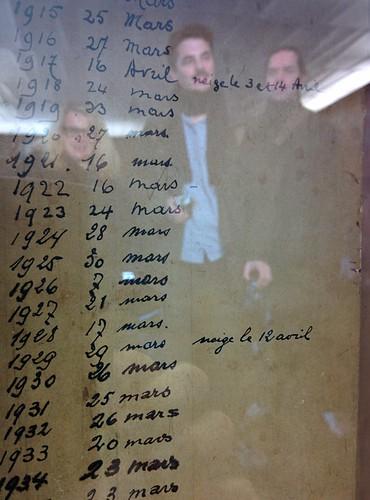 Marronnier Oficiel record